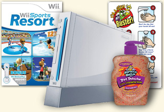 Wii, Wii Sports Resort and Soap