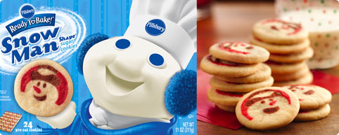 Free Or Cheap Pillsbury Ready To Bake Holiday Cookie Dough At Walmart